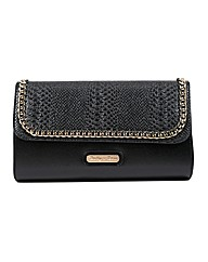 Dolly & Rose Croc Clutch