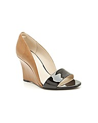 Clarks Sateen Curtain Sandals Standard