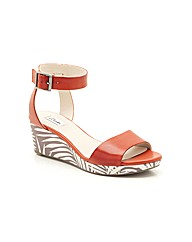 Clarks Ornate Jewel Sandals Wide Fit
