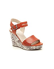 Clarks Orleans Jazz Sandals Wide Fit