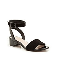 Clarks Sharna Balcony Sandals Wide Fit