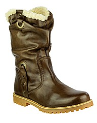 Riva Zinia Short Leather Boot