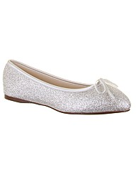 Rainbow Club Hayley Ivory Wedding Shoe
