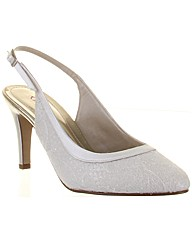 Rainbow Club Melissa Ivory Wedding Shoe
