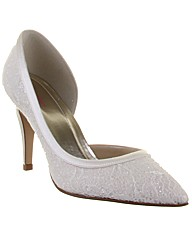 Rainbow Club Esme Ivory Wedding Shoe