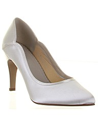 Rainbow Club Lucy Ivory Wedding Shoe