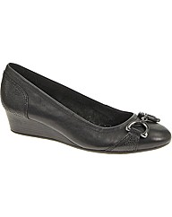 Hush Puppies Candid Pump Bit Shoe