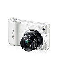Samsung WB800F Camera White 16.3MP FHD