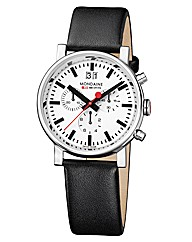 Mondaine Evo Chrono Mens Strap Watch
