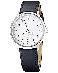 Mondaine Helvetica No 1 Mens Strap Watch
