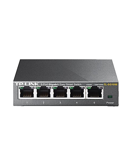 5 Port Desktop switch with steel case