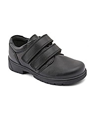Start-rite Rotate Black Fit E Shoes