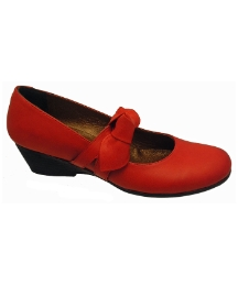 Riva Melody Red Leather Shoe