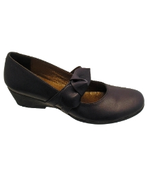 Riva Melody Navy Leather Shoe