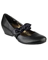 Riva Melody Black Leather Shoe