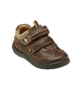 Start-rite Rowdy Brown Fit F Shoes