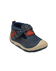 Start-rite Tiny Navy Fit H Shoes