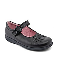Start-rite Violet Black Fit F Shoes
