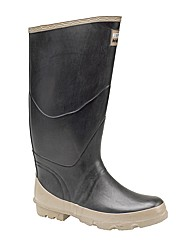 Bullseye Hood Rubber Welly LARGE SIZE