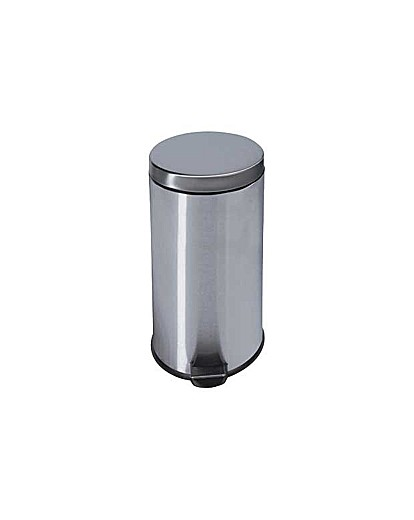 Image of 30 Litre Kitchen Pedal Bin - Silver