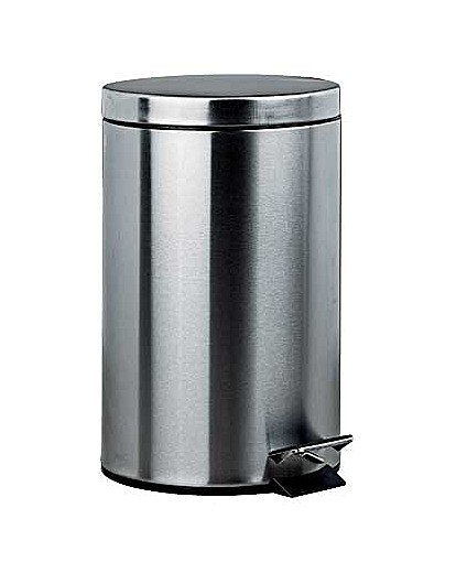 Image of 12 Litre Pedal Kitchen Bin - Silver