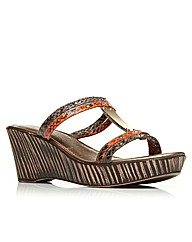 Moda in Pelle Pilling Ladies Sandals