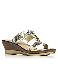 Moda in Pelle Pila Ladies Sandals