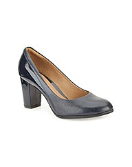 Clarks Womens Basil Auburn Ex-Wide Fit