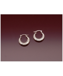 Sterling Silver Patterned Earrings