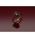 9ct Gold Garnet Cluster Ring