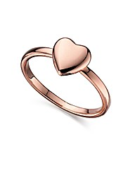 Fiorelli Rose Heart Ring
