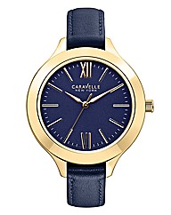 Caravelle New York Ladies Strap Watch