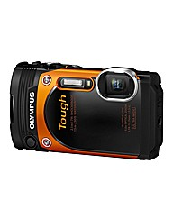 Olympus TG-860 Tough Camera Orange