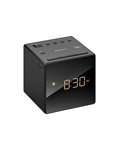 Image of Sony ICF-C1B Cube Clock Radio - Black