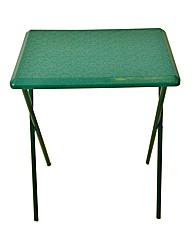 Senior Solid Plastic Table in Green