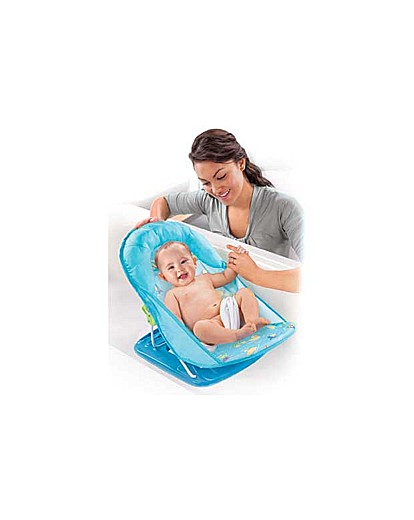 Image of Summer Infant Deluxe Blue Bather.