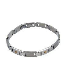 Interlocking Gents Bracelet