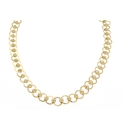 Silver Gold Plated Circle & Ball Nlet