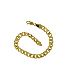 9ct Gold 1/4oz Curb Bracelet