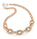Rose Gold Effect Chain Link Necklace