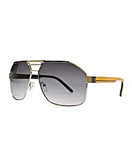 Jacamo Hexagon Aviator Sunglasses
