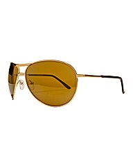 Jacamo Wrap Aviator Sunglasses