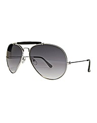 Viva La Diva Brow Bar Aviator Sunglasses