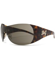 D&G Diamante Visor Sunglasses