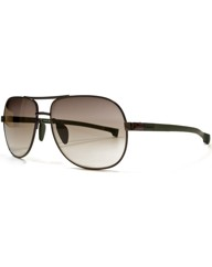 Lacoste Rubber Arm Aviators