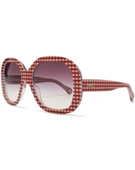 D&G Oversize Picnic Print Sunglasses
