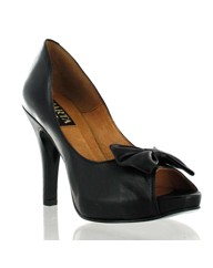 Marta Jonsson black leather platform