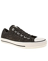 Converse All Star Glitter Lace Ox