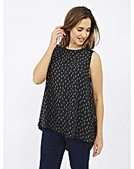 Koko Feather Print Top