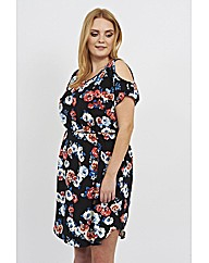 Koko Flower Print Dress